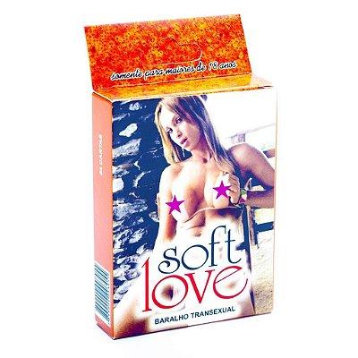 Baralho Kama Sutra Transexual 54 Cartas Soft Love