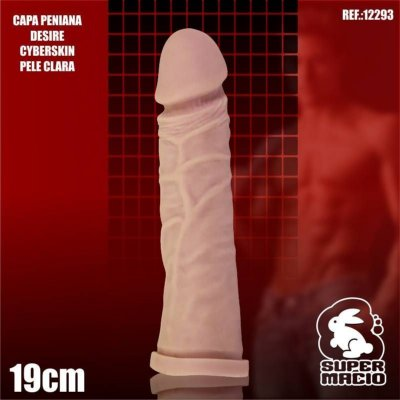 CAPA PENIANA DESIRE CYBER 19CM BEGE