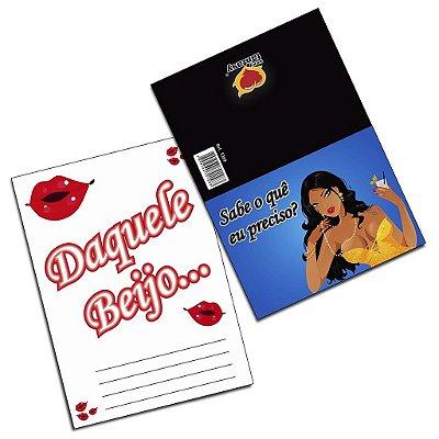 Cartão aquele beijo 05 unidades sexy fantasy