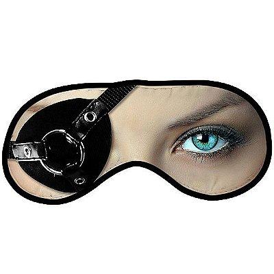 Máscara para dormir divertida - mulher pirata