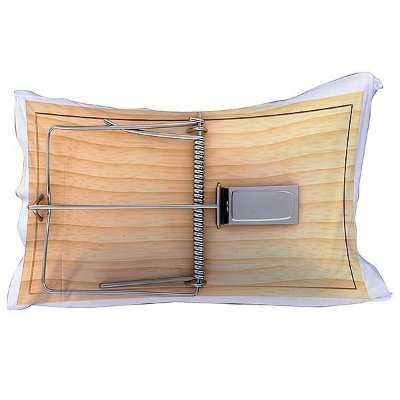Capa para travesseiro - ratoeira - 70x50cm