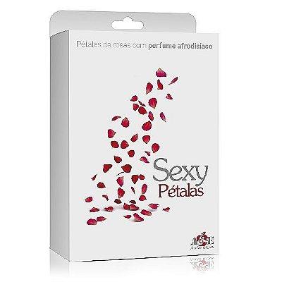 Sexy pétalas de rosas com perfume afrodisíaco