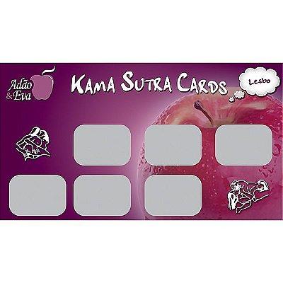 10 Raspadinhas Kama Sutra Cards - Lesbo