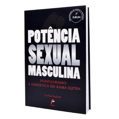 LIVRO POTÊNCIA SEXUAL MASCULINA POMPOARISMO KADOSH