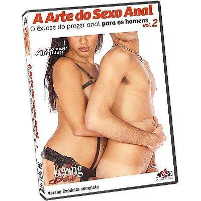 DVD Loving Sex - A Arte do Sexo Anal - O êxtase do prazer anal para os Homens