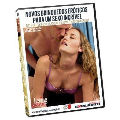 DVD - Novos Brinquedos Eróticos Para Um Sexo Incrível - Loving Sex