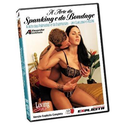 DVD - A Arte Do Spanking E Do Bondage - Loving Sex