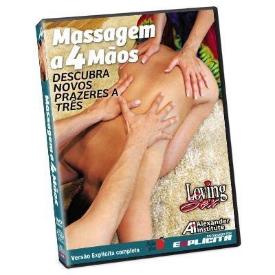 DVD - Massagem a 4 Mãos - Loving Sex