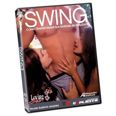 DVD - Swing Como Transformar sua Fantasia em Realidade- LOVING SEX