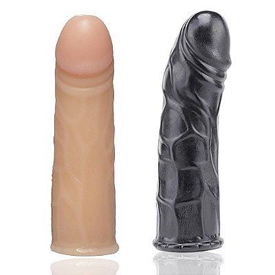 Prótese maciça realística 16,5 x 3,3cm Soulsex
