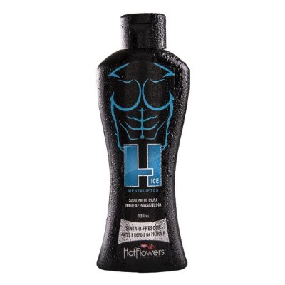 ICE SABONETE ÍNTIMO MASCULINO 130ML HOT FLOWERS
