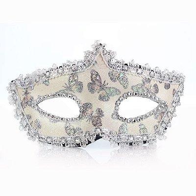 Cinquenta Formas de Amar - Máscara Sensual Branca