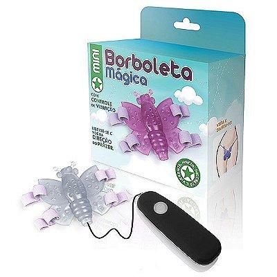 Mini Borboleta mágica transparente - 12 variações de velocidade