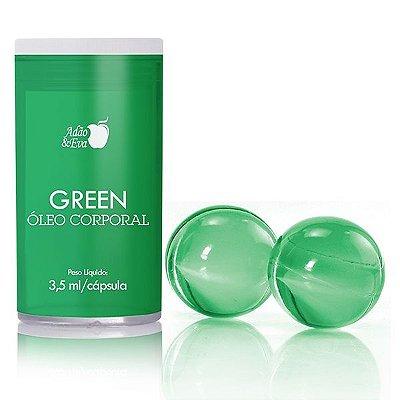 Cápsula Verde com 2 Unidades