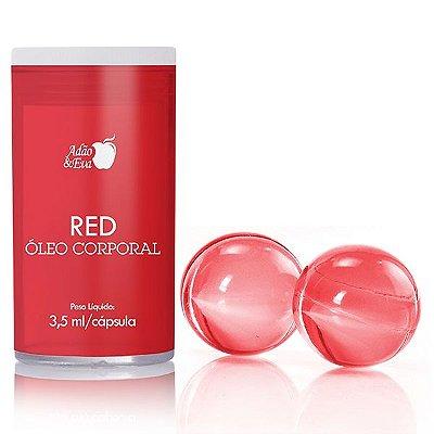 Cápsula Vermelha com 2 Unidades
