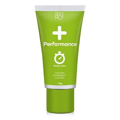 + Performance Sexy Hot - Gel Masculino para Massagem 15g
