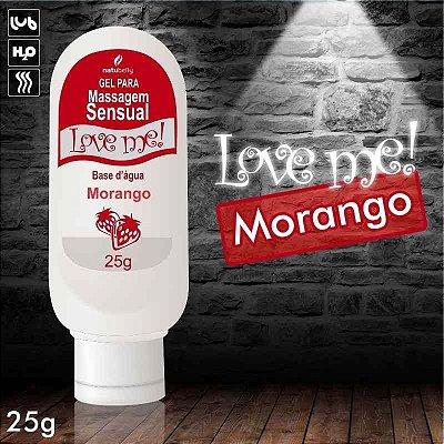 LUBRIFICANTE NATUBELLY LOVE ME 25G MORANGO