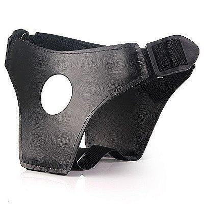 Strap On com prótese kenobi - 20x4 cm na cor pele - 340g