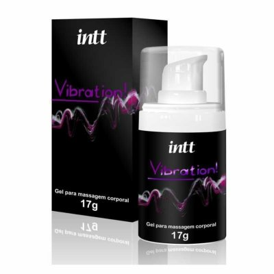 EXCITANTE UNISSEX INTT VIBRATION! 17G TRADICIONAL (CHOCOLATE)