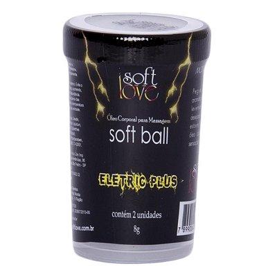 Soft ball bolinha eletric plus 8g 02 unidades Soft Love