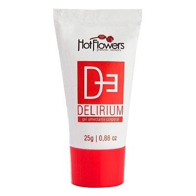 Delirium excitante bisnaga vermelha 25g Hot Flowers