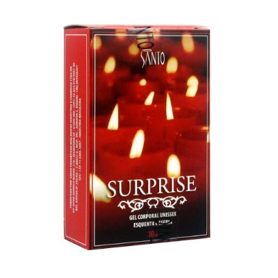 Surprise excitante esquenta e esfria 10g Santo