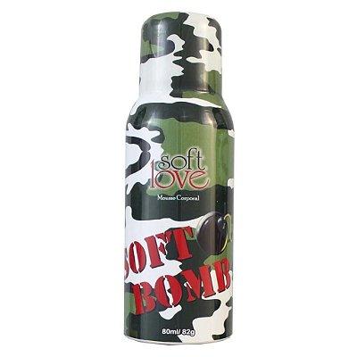 Soft bomb mousse comestível 80ml Soft Love
