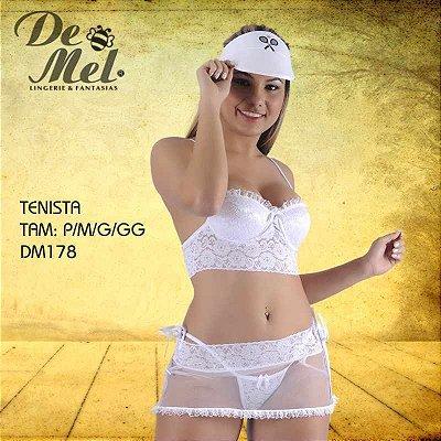 FANTASIA FEMININA DE MEL TENISTA