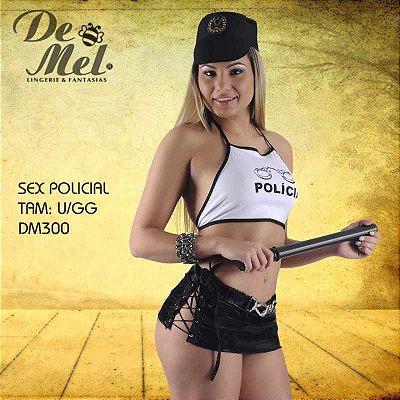 FANTASIA FEMININA DE MEL SEX POLICIAL