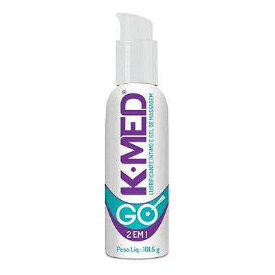 K-Med go 2em 1 lubrificante íntimo 101,5g Cimed