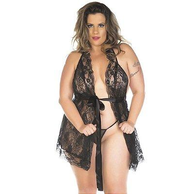 Camisola sensual plus size luxo Pimenta Sexy