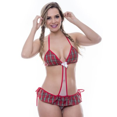 Kit mini fantasia colegial body Sensual Love