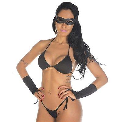 Kit mini fantasia tiazinha Pimenta Sexy