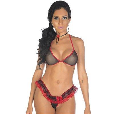 Kit mini fantasia espanhola Pimenta Sexy