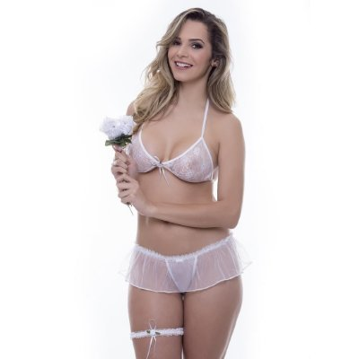Kit mini fantasia noiva Sensual Love