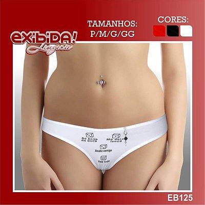 Tanga exibida lingerie EB125