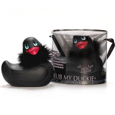 I Rub My Duckie - Paris - Vibrador em formato de pato Black