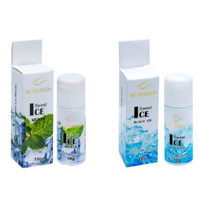 In Heaven Gel Comestível Ice 10g Intt
