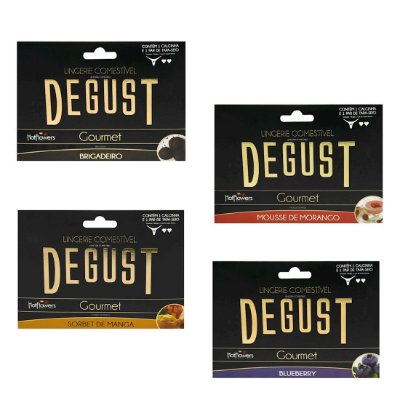Degust Gourmet Lingerie Comestível Hot Flowers