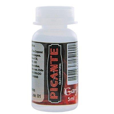 Picante Flaconete Lubrificante Hot 5ml Garji
