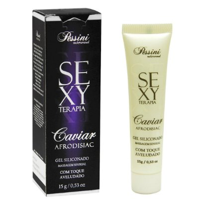 Caviar Gel Toque Aveludado Sexy Terapia 15g Pessini