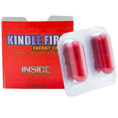 Kindle Fire Energy Caps Energético 02 Comprimidos Inside