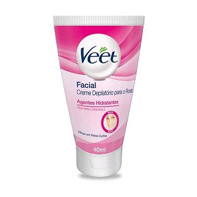 Veet Facial Creme Depilatório para o Rosto - 40 ml