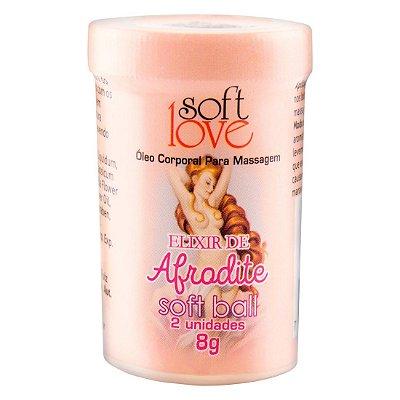 Soft Ball Bolinha Elixir De Afrodite 8G 02 Unidades SOFT LOVE