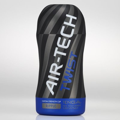 TENGA AIR-TECH TWIST BLUE - RIPPLE