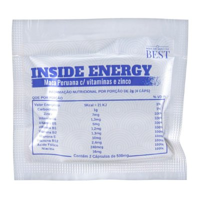 ENERGY 2 CÁPSULAS INSIDE