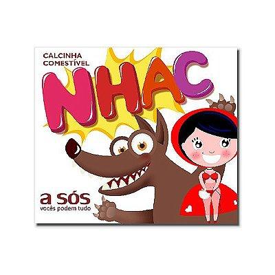CALCINHA COMESTÍVEL NHAC SABOR CHOCOLATE