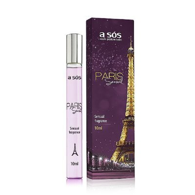 PERFUME FEROMÔNIO SENSUAL PARIS ROLL-ON - 10ML