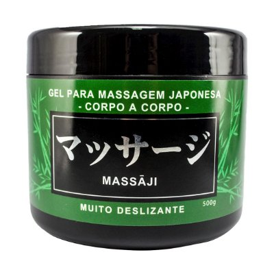 MASSAJI GEL MASSAGEM CORPO A CORPO 500G HOT FLOWERS