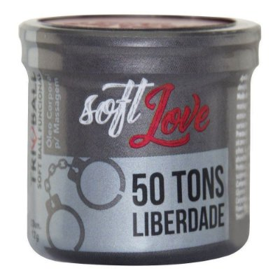 SOFT BALL TRIBALL 50 TONS DE LIBERDADE 12G 03 UNIDADES SOFT LOVE